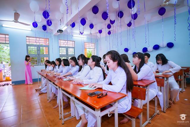 Chụp ảnh kỷ yếu tại Bình Phước