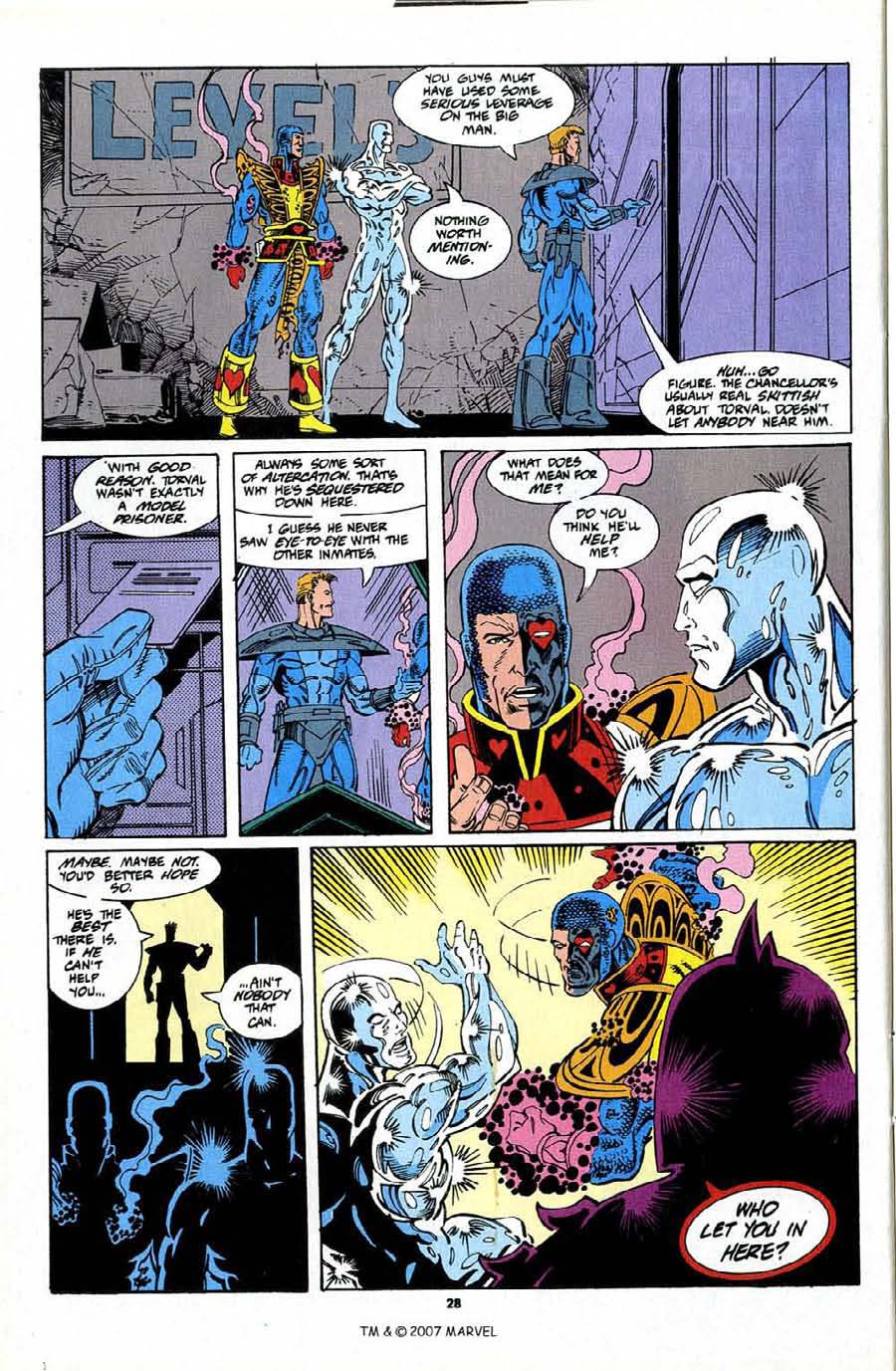 Read online Silver Surfer (1987) comic -  Issue #76 - 30