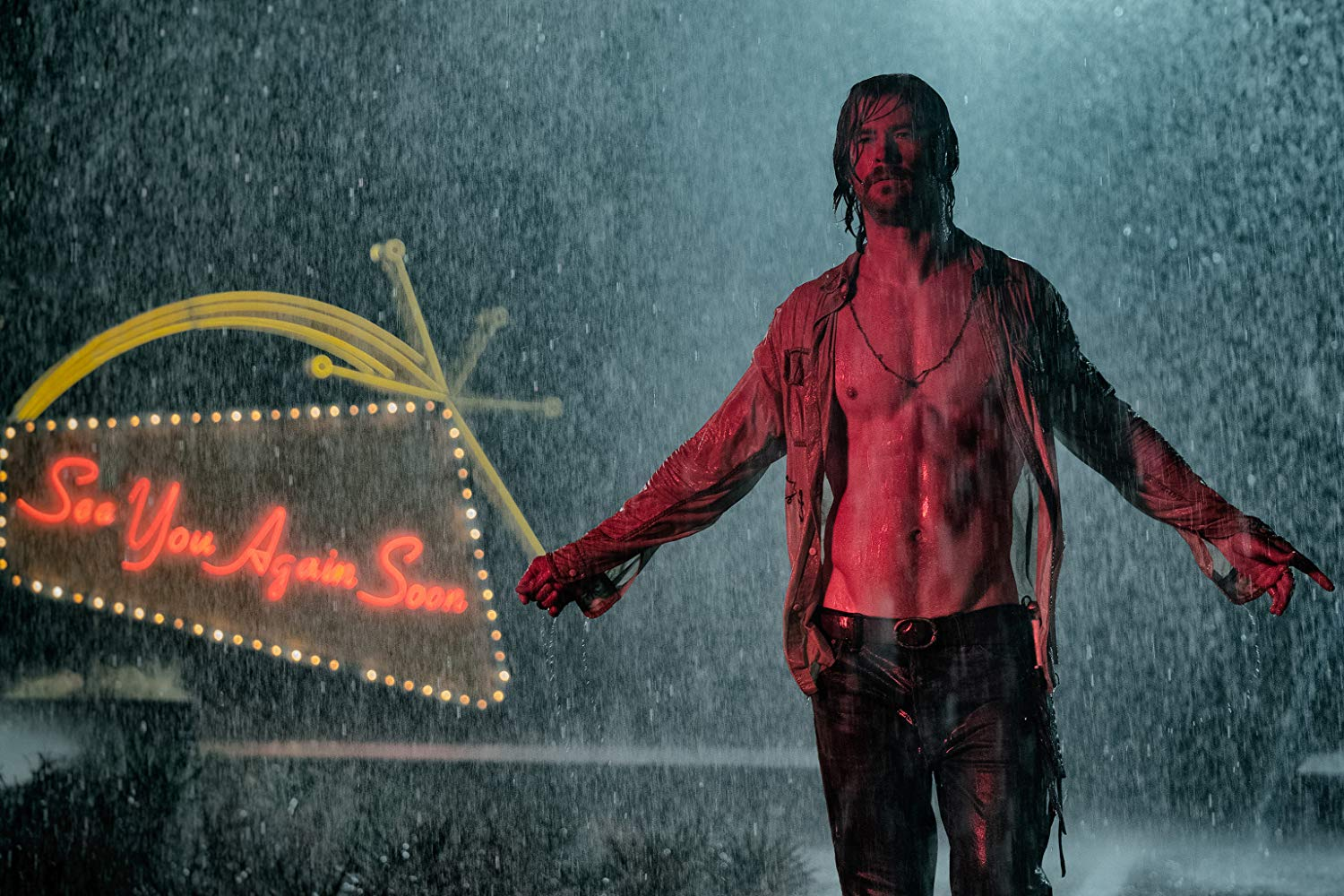 "Movie Review: ""Bad Times at the El Royale"" (2018)"