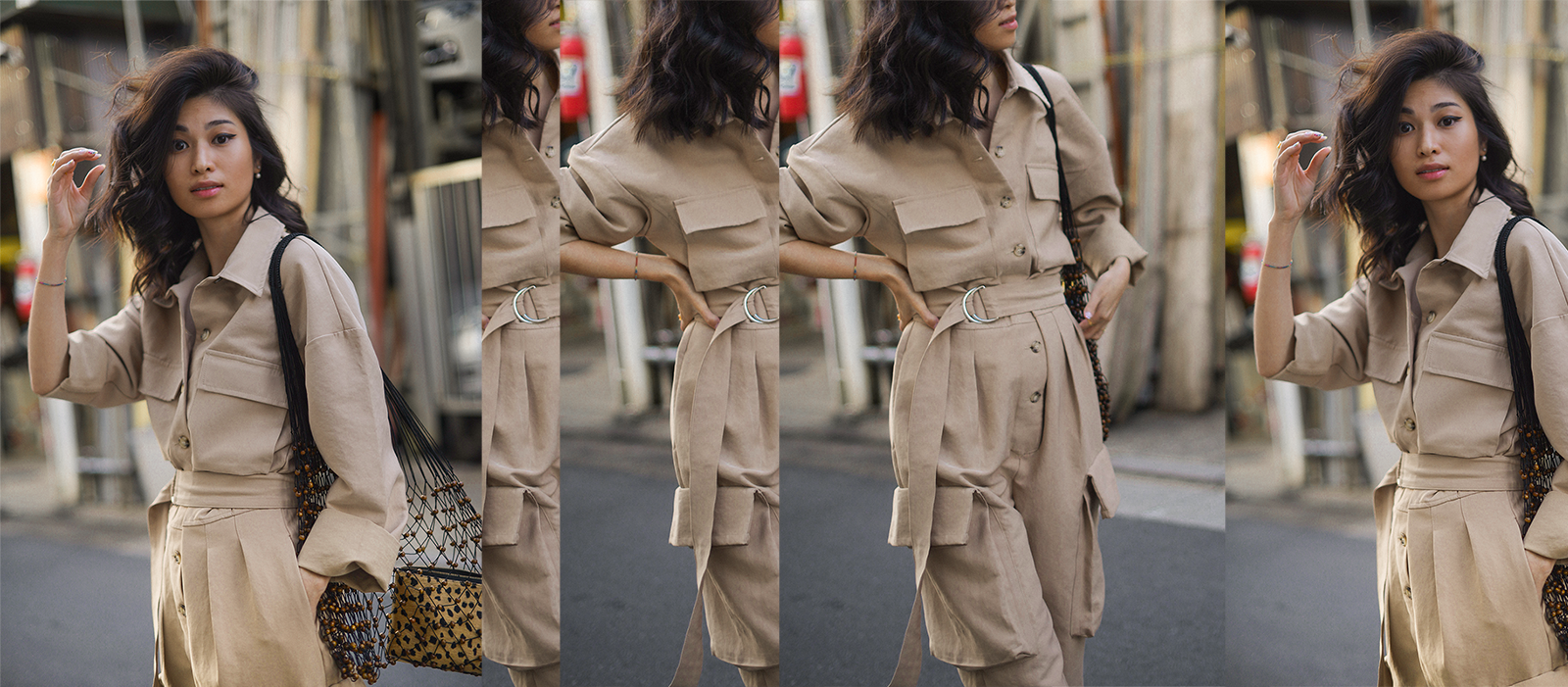 The Frankie Shop Jumpsuit, beige jumpsuit for fall - Personal style blog by Van Le based in New York and Tokyo / FOREVERVANNY.com