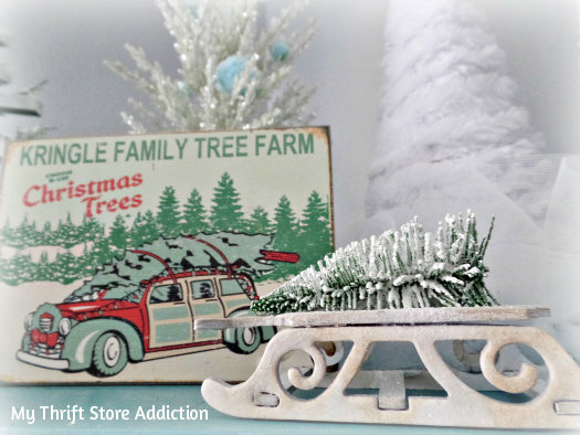 My Thrift Store Addiction- A thrift Store Christmas Tree Farm