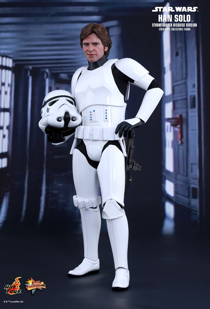 EP. IV - UN NOUVEL ESPOIR - HAN SOLO (STORMTROOPER Disguise Version) 4
