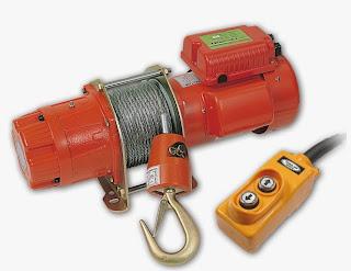 รอกสลิงไฟฟ้า 200กิโล  รอกสลิงไฟฟ้า 220V  วินซ์ไฟฟ้า 220V