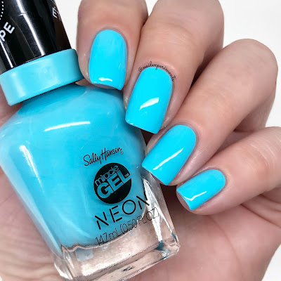 sally hansen miracle gel miami ice summer 2019 neon collection limited edition swatches