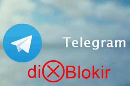 Telegram Resmi diblokir di Indonesia