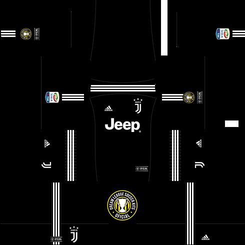 f869a1bbc9b Dream League Soccer Kits  Juventus (Goleiros) 17 18 - DLS17   FTS ...