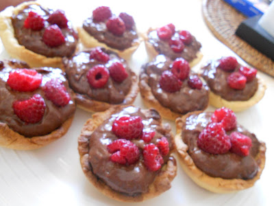 https://thecheapglut.wordpress.com/recipes/chocolate/chocolate-custard-and-raspberry-tarts/