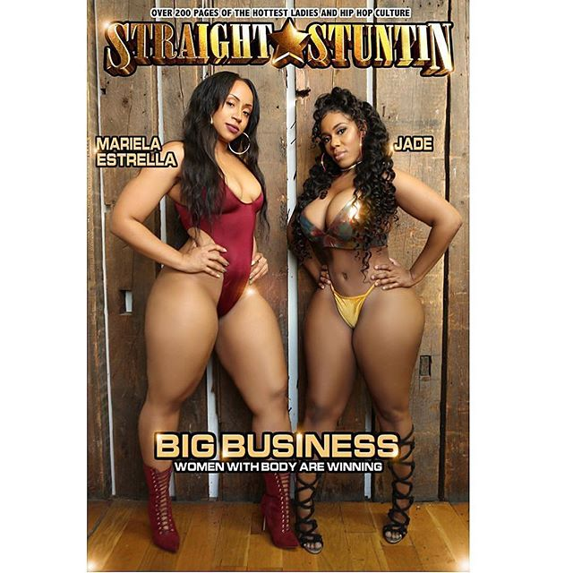 Straight Stuntin Magazine Models