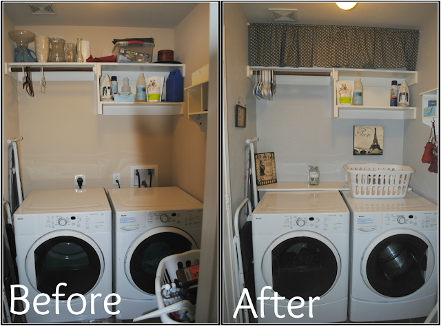 Six Cents: Laundry Room Makeover