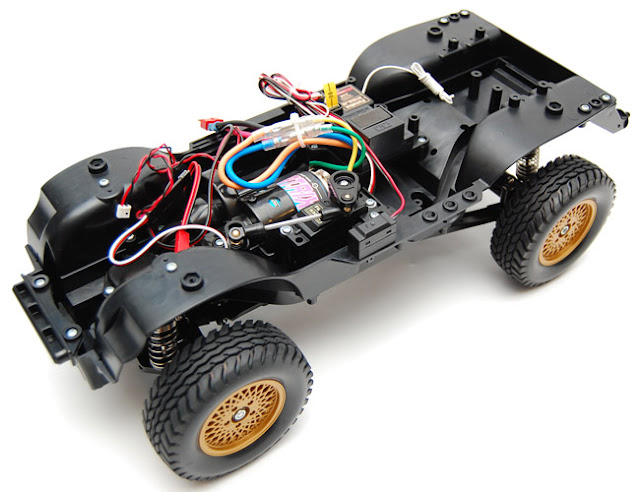 Tamiya Jeep Wrangler kit roller build
