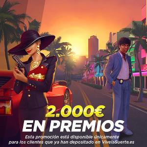 VivelaSuerte sorteo 2000 euros 24-27 abril