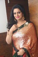 Udaya Bhanu lookssizzling in a Saree Choli at Gautam Nanda music launchi ~ Exclusive Celebrities Galleries 074.JPG