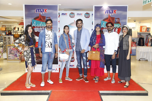 MAX showcased and launched its Autumn Winter 2016 collection at Oasis Mall, Begumpet Store today.