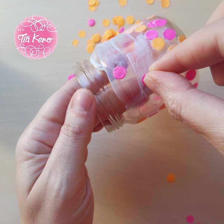 Tía Keko y manualidades con niños cristal