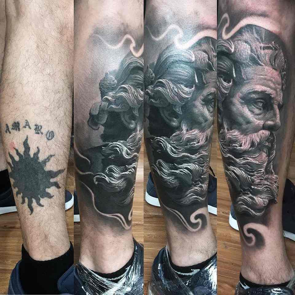 Vemos tatuaje para cubrir otro tatuaje