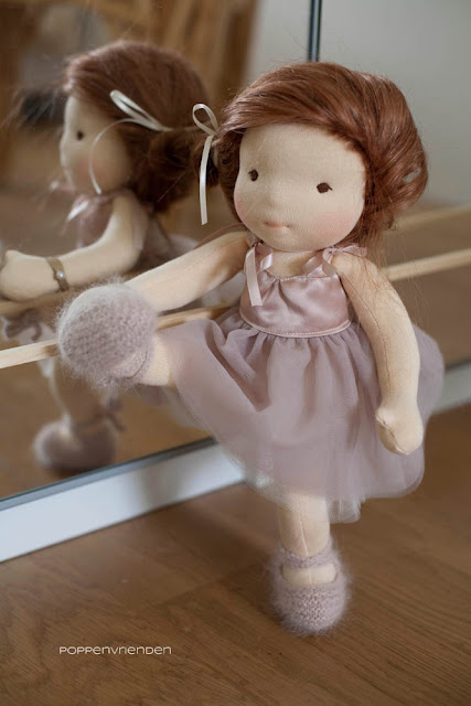 Waldorf dolls with a ballerina ambition
