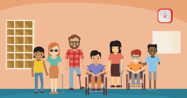 Não temos pessoa com deficiência na Mídia, Porque?