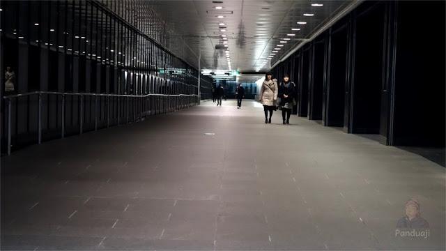 Lorong Bawah Tanah dari Shinjuku ke Tokyo Metropolitan Goverment Building