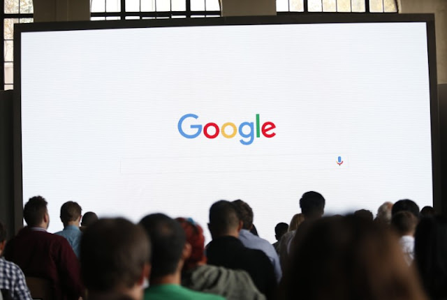Image Attribute: Attendees wait for a Google presentation in San Francisco, October 2016. REUTERS/Beck Diefenbach