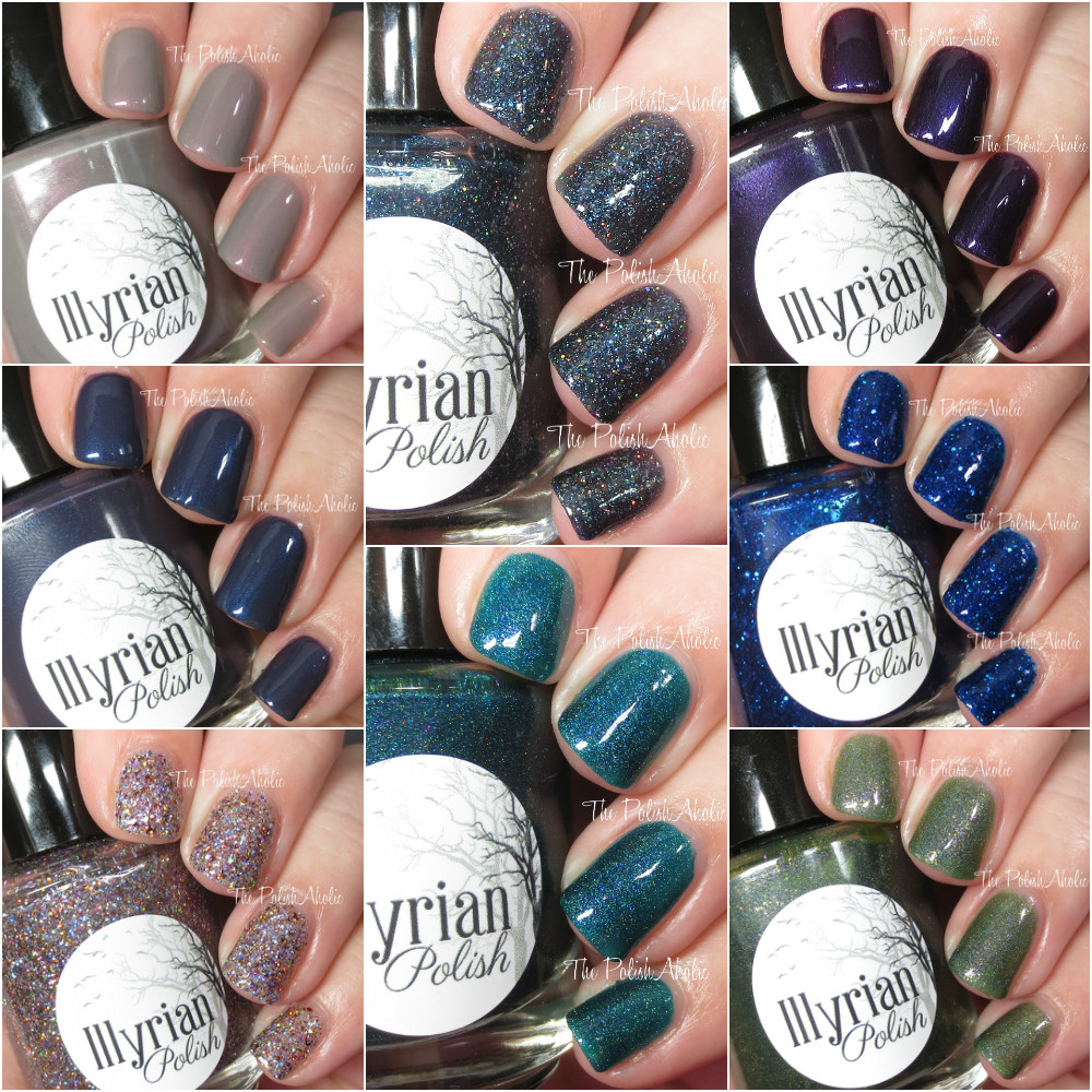 The PolishAholic: Illyrian Polish Winter Is Coming Collection ...
