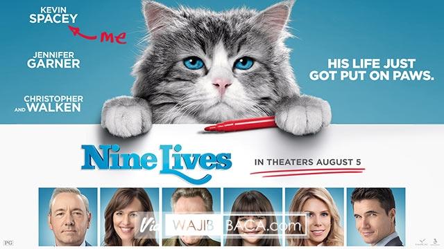 Nine Lives, Ketika Dirimu Terjebak dalam Tubuh Seekor Kucing Hadiah Ulang Tahun