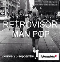 Retrovisor y Man pop en Fotomatón