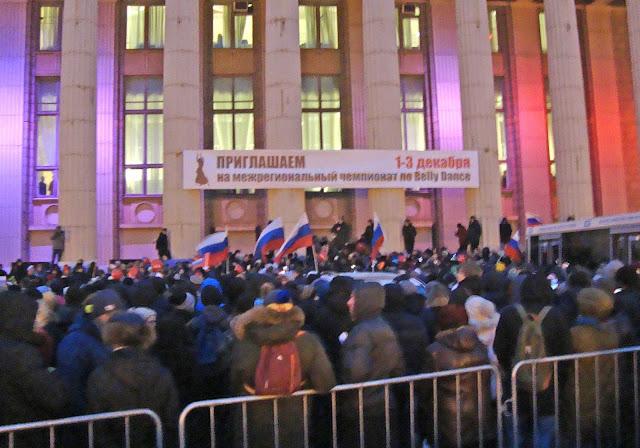 Митинг Алексея Навального в Самаре 03.12.17г.