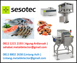 seafood metal detector indonesia