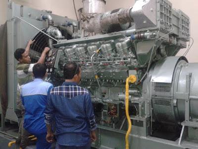 melayani service genset dan pembuatan panel listrik