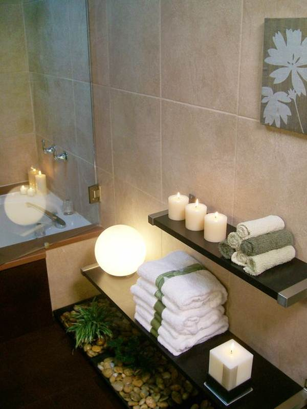 Keys For Decorating a Zen Style Bathroom 6