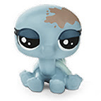 LPS Series 2 Family Pack Turtelo Scrapper (#2-56) Pet