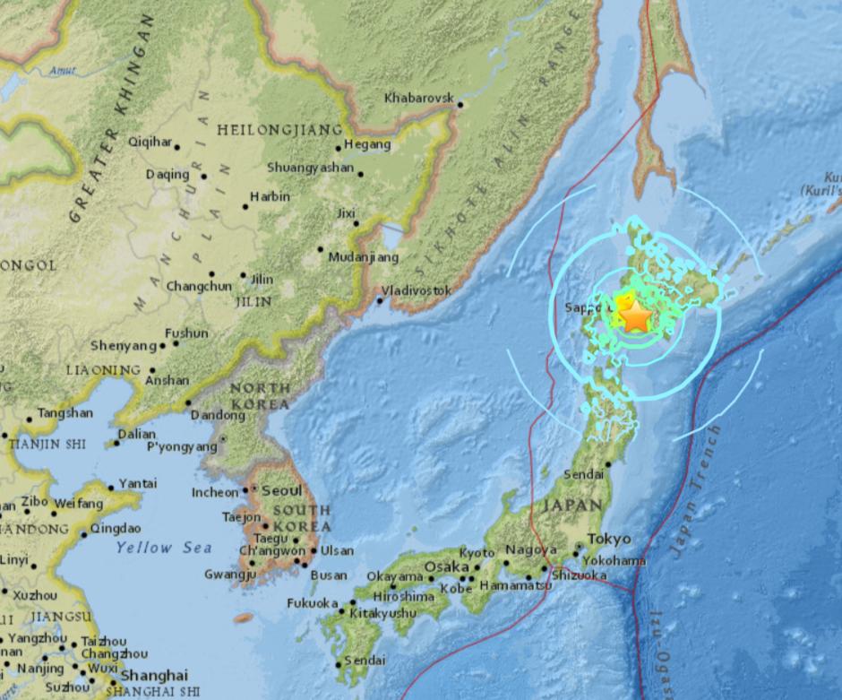 Quake Knocks Out Tomari nuclear plant Hokkaido Japan  Naamloos