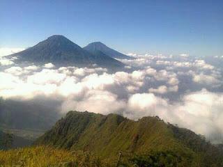Jalur Pendakian Gunung Bismo