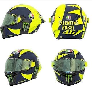 Helm Baru Marquez, Rossi, dan Lorenzo, Lebih Keren Mana?