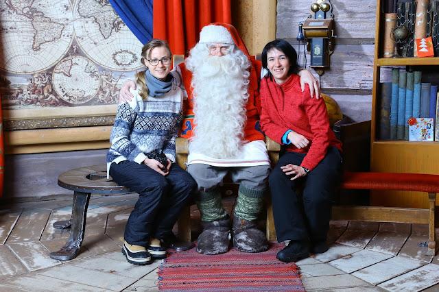 Por fin conocemos a Santa Claus!