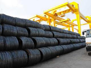 Việt Nam nhập khẩu lượng lớn thép từ Trung Quốc