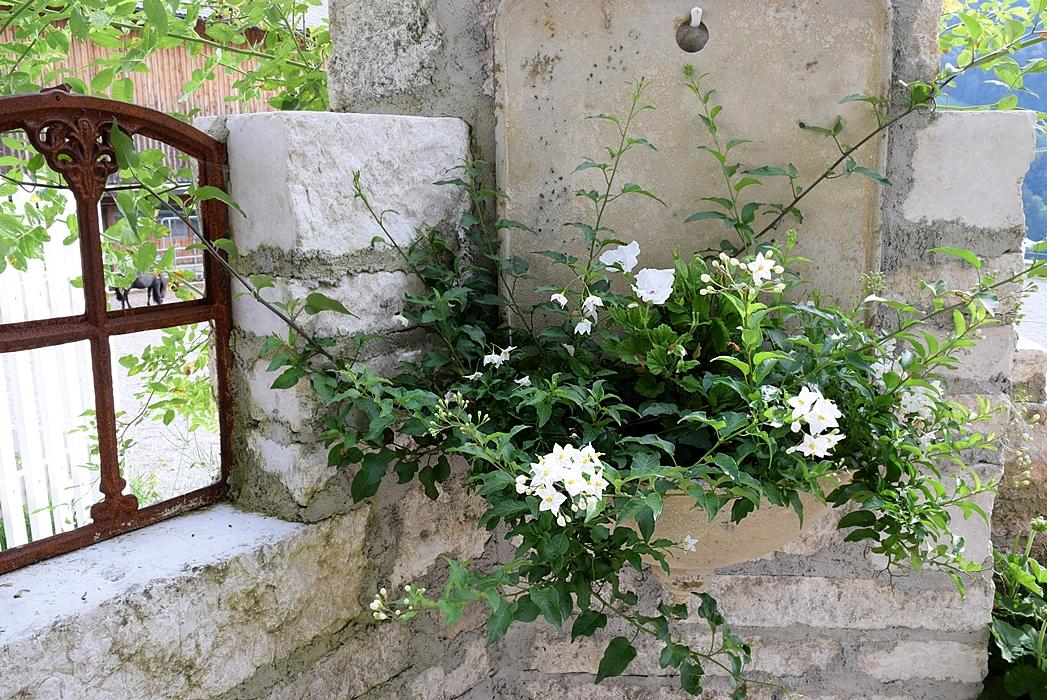 Gartengestaltung mit Natursteinmauern