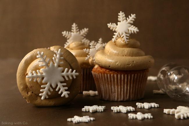 cupcakes turrón jijona
