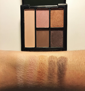 e.l.f. Clay Eyeshadow Palette saturday sunsets swatch