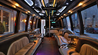party bus with bathroom