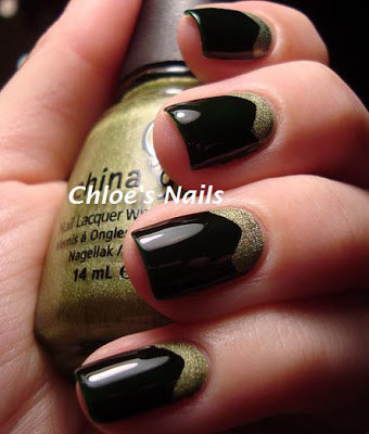 smart nail art drawing designs that are really easy and