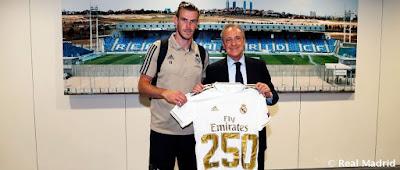 Bale: 250 partidos