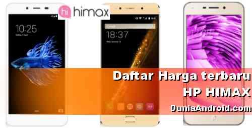 Harga terbaru HP HIMAX android
