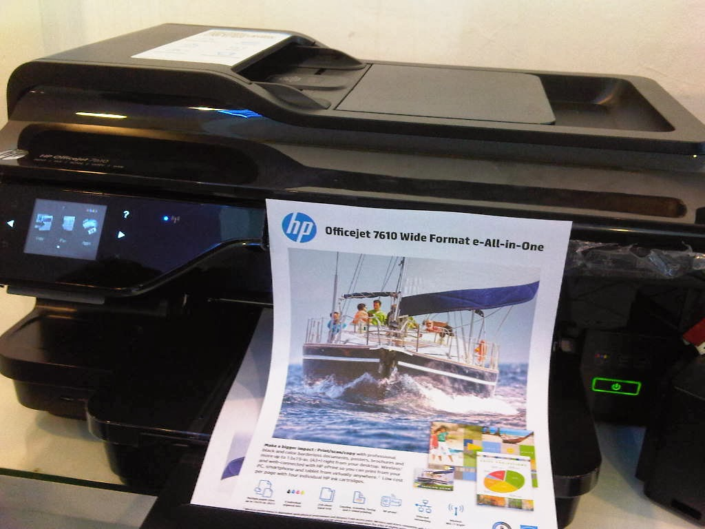 Lihat Cara Isi Ulang Tinta Hp Officejet 7110 paling mudah