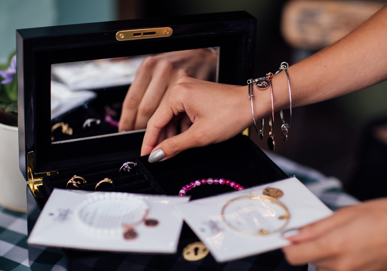 Whitney's Wonderland UK Top Fashion Blogger Influencer's Jewellery Box with Chrysalis.