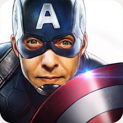 Capitão America Rafa Morawski