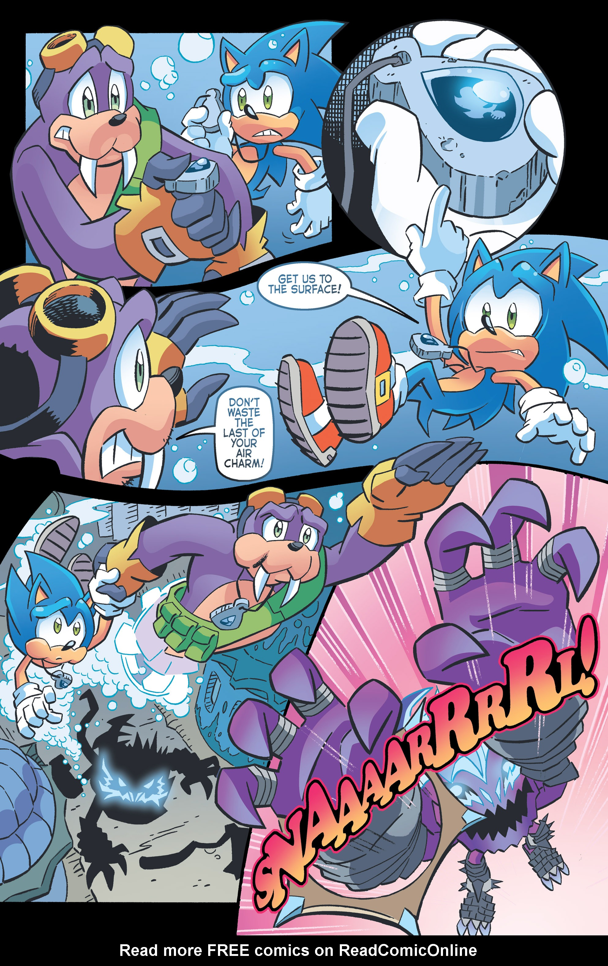 Read online Sonic The Hedgehog comic -  Issue #262 - 15
