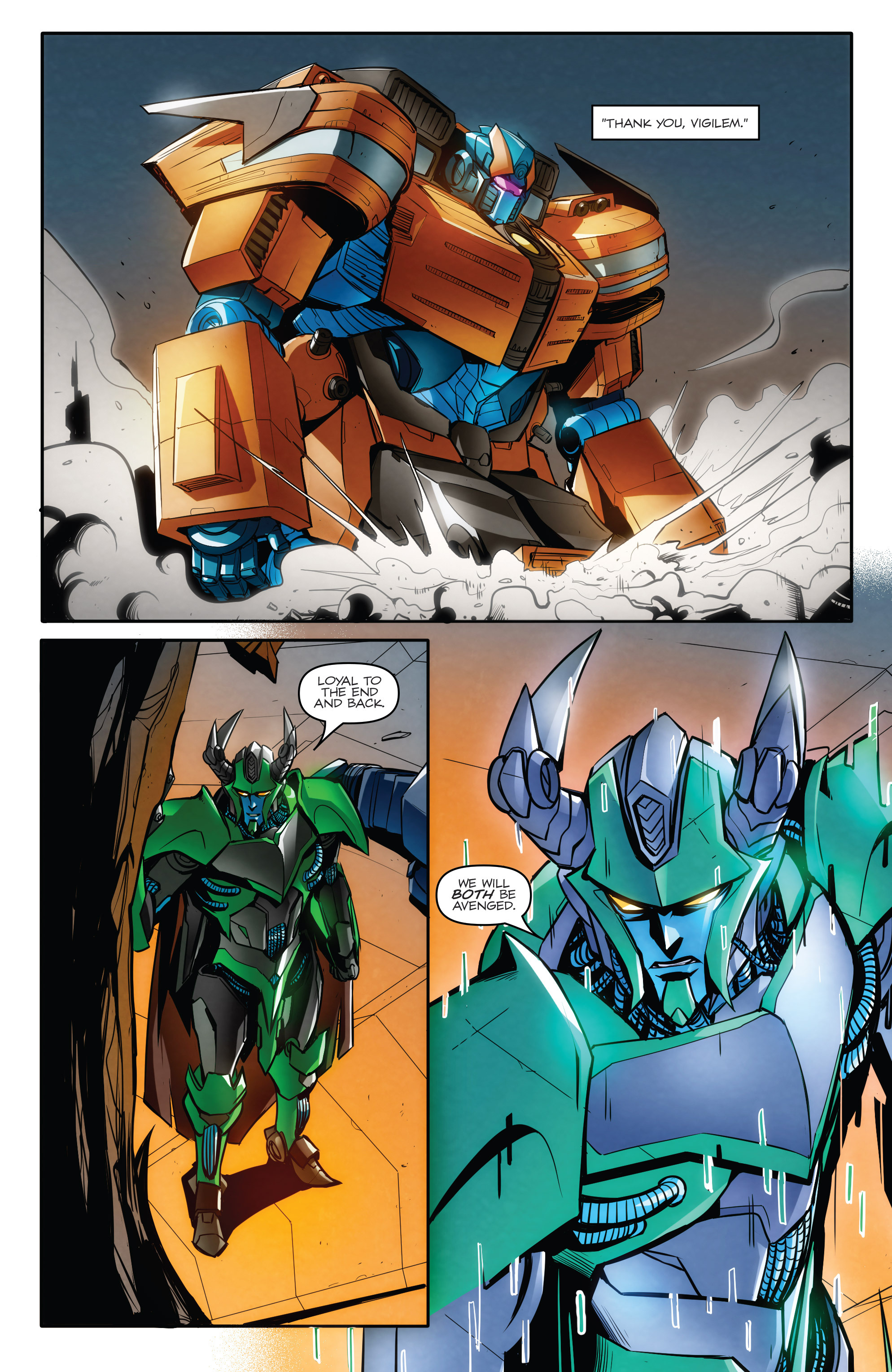 Read online Transformers: Till All Are One comic -  Issue #8 - 21