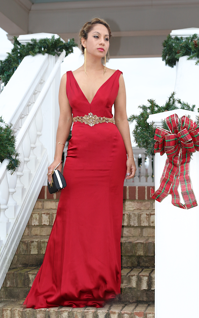 Christmas and formal gown