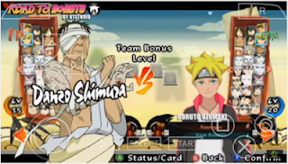 Naruto Ultimate Ninja Storm 4 Boruto Mod Lite PPSSPP for Android